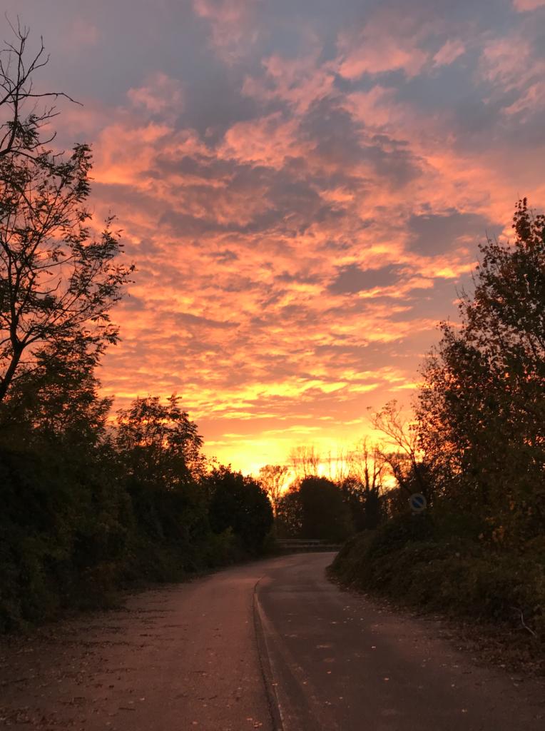 italy sunset 764x1024 Italian Road Trip, November 2018