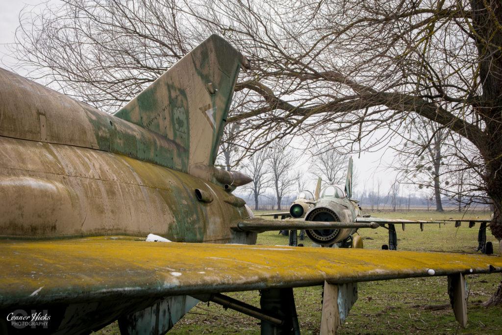 lost mig 21 urbex hungary 1024x683 Plane Graveyard, Hungary