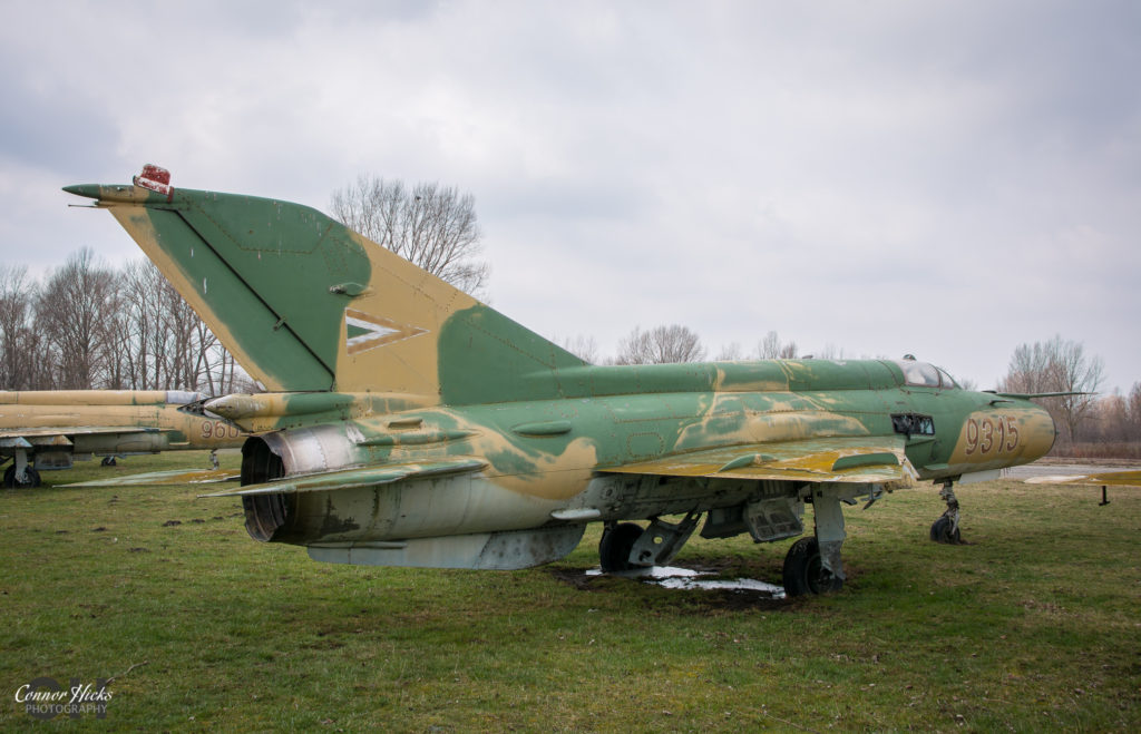 lost migs hungary 1024x659 Plane Graveyard, Hungary