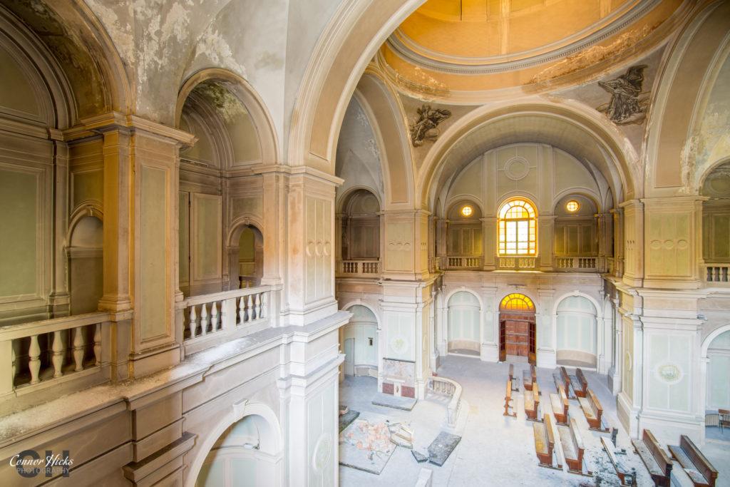 ospedale di g urbex italy church 1024x683 Ospedale Di G, Italy