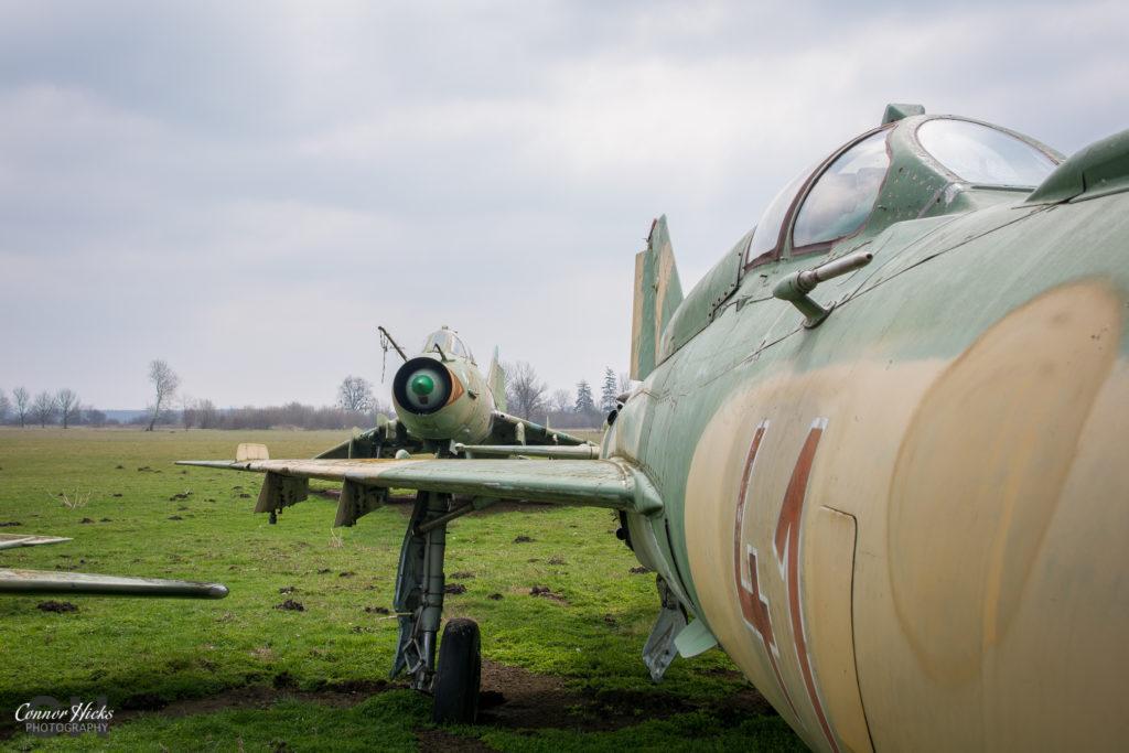 plane urbex hungary 1024x683 Plane Graveyard, Hungary