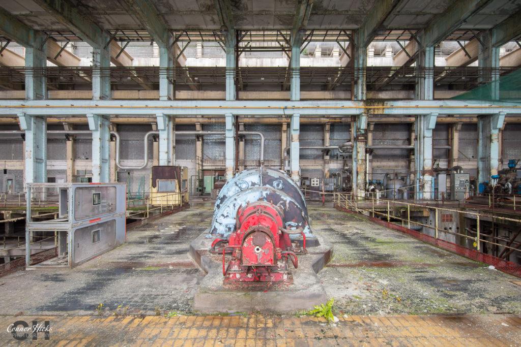 power station hungary urbex turbine 1024x683 Shepherds Plant, Hungary