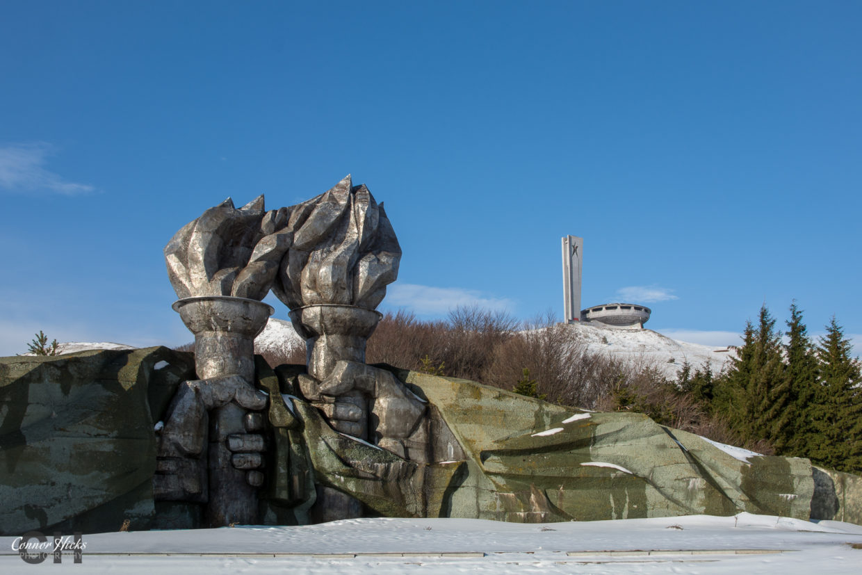 urbex bulgaria buzludzha monument