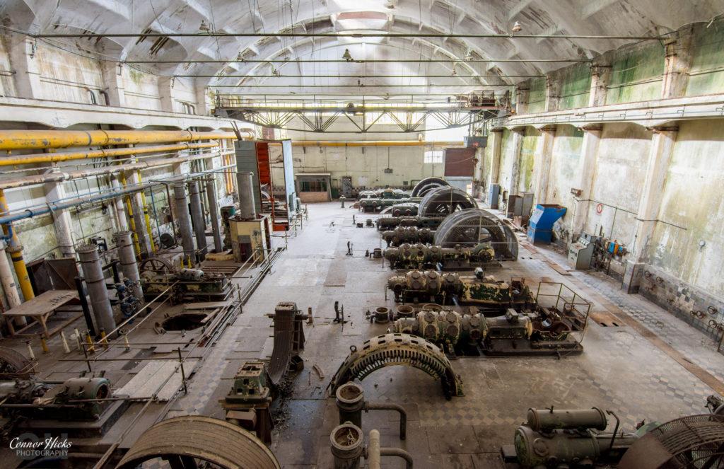 urbex hydro power plant 1024x663 Power Plant V, Italy
