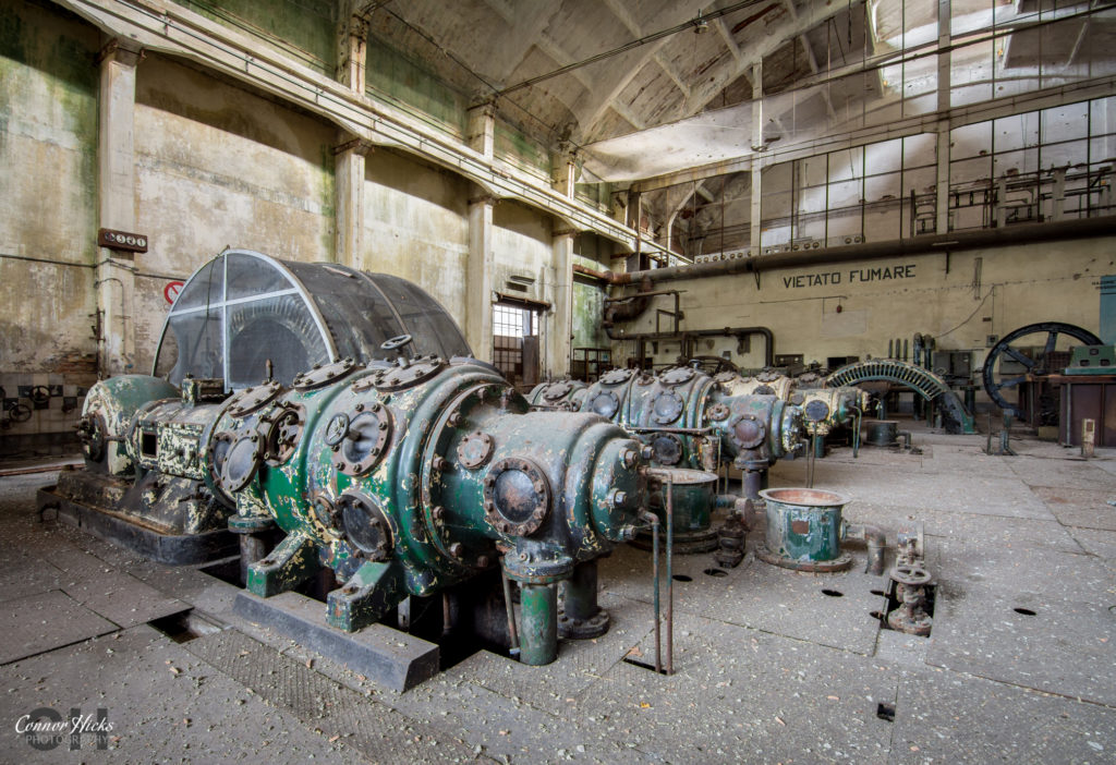 urbex italy  1024x702 Power Plant V, Italy