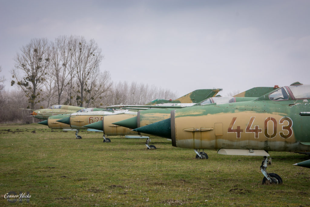 urbex planes hungary migs 1024x683 Plane Graveyard, Hungary