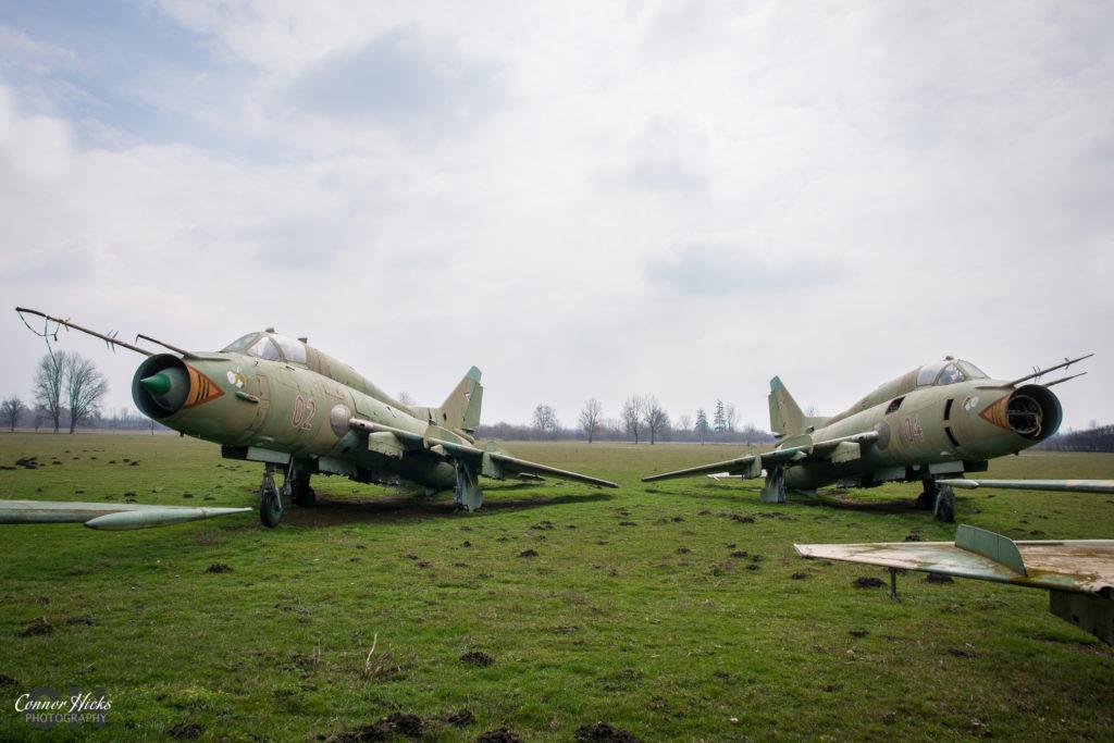urbex su 22 plane hungary 1024x683 Plane Graveyard, Hungary